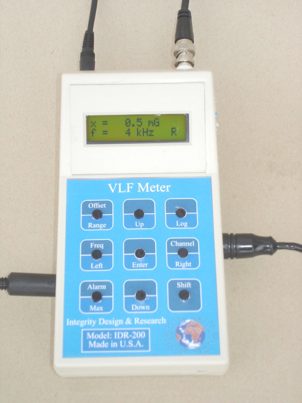 ELF and VLF Magnetic field radiation Measurement Equipments ...